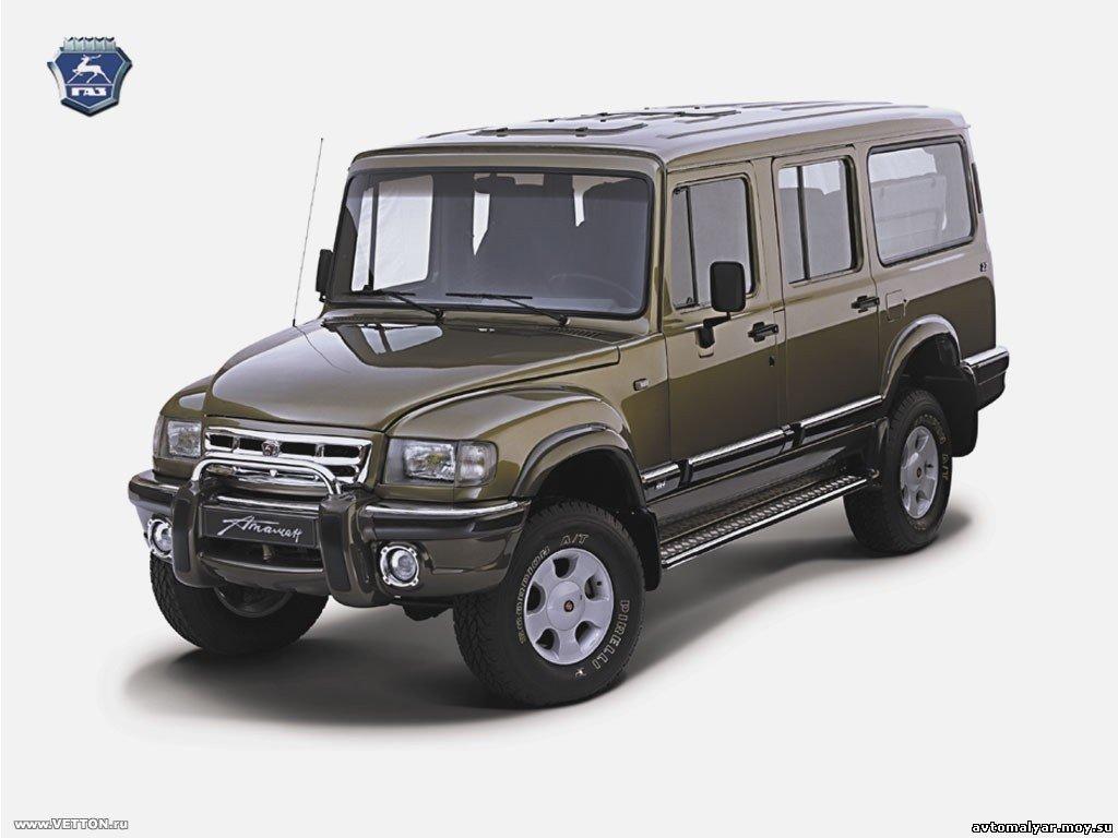 ГАЗ-230810 «Атаман-Ермак» - полнораз…